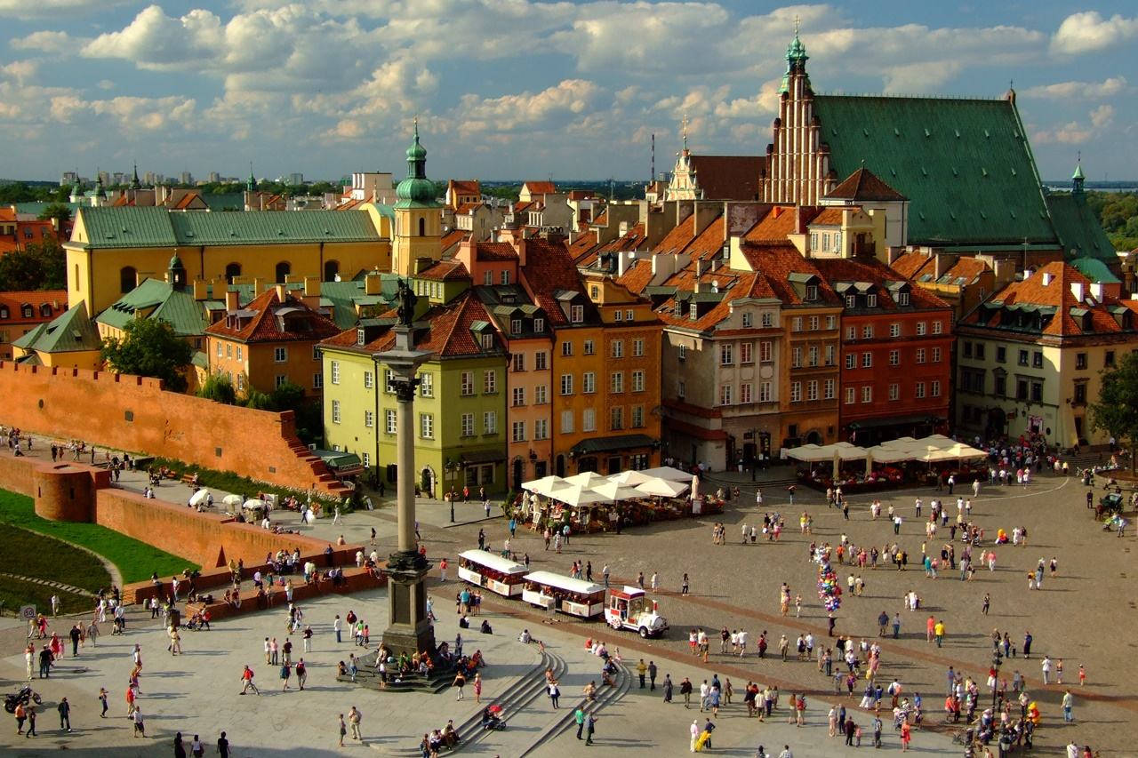 WARSAW old town (up to 3h)